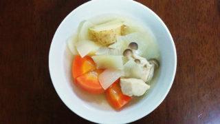 パルシステムの野菜を使うカレー味のファイトケミカルスープ!