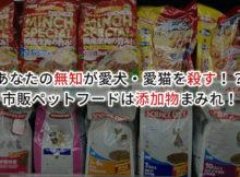 ペットフード 食品添加物