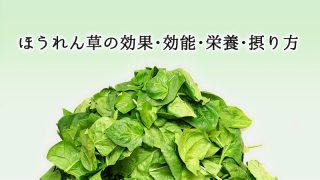ほうれん草の効果・効能・栄養・摂り方 総まとめ。葉物野菜の王様!