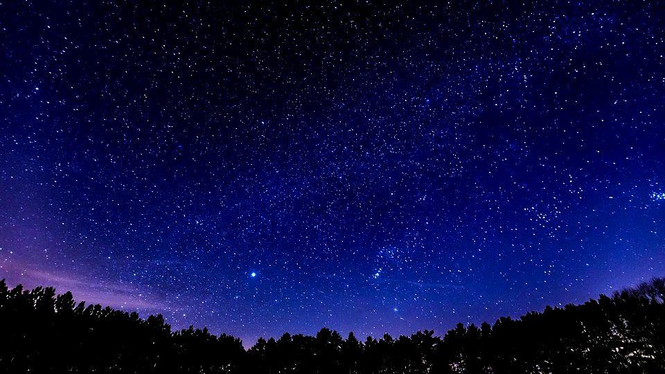 自然 星空