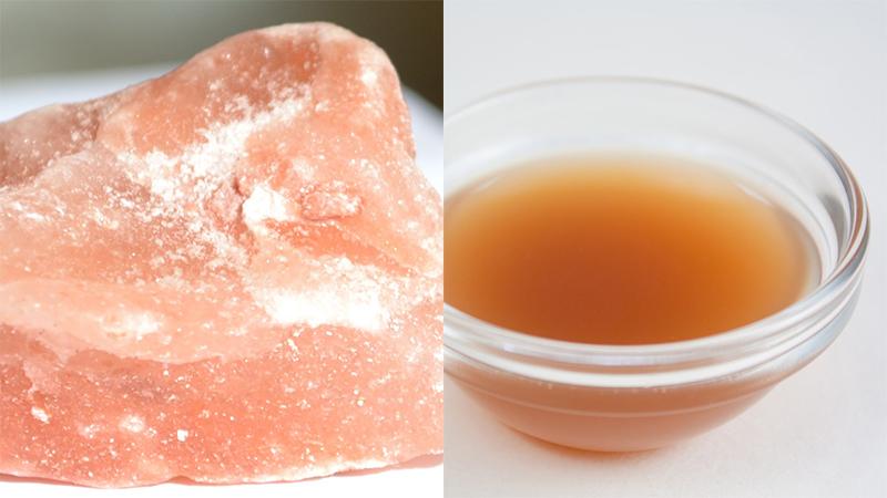 水虫 自然に治す 岩塩 リンゴ酢