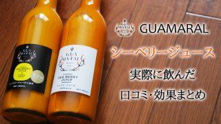 GUAMARAL│モンゴル産シーベリージュースを実際に飲んだ効果・感想まとめ